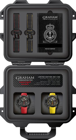 Graham Watch Chronofighter Oversize Twin Superlight Limited Edition