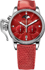 Graham Watch Chronofighter 1695 Lady Moon Red Diamond