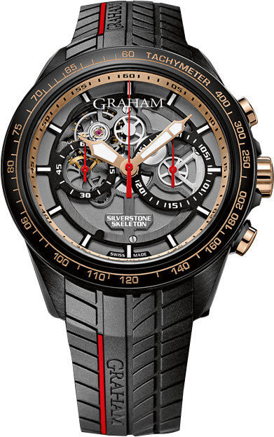 Graham Watch Silverstone RS Skeleton GT Asia Limited Edition