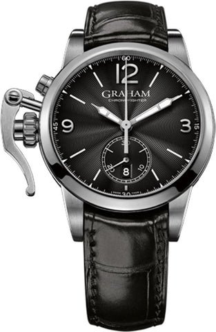 Graham Watch Chronofighter 1695 Steel Black