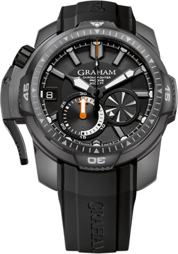 Graham Watch Chronofighter Prodive PVD