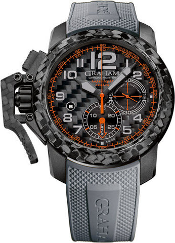 Graham Watch Chronofighter Superlight Grey Orange Limited Edition