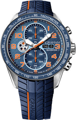 Graham Watch Silverstone RS Racing Orange Blue