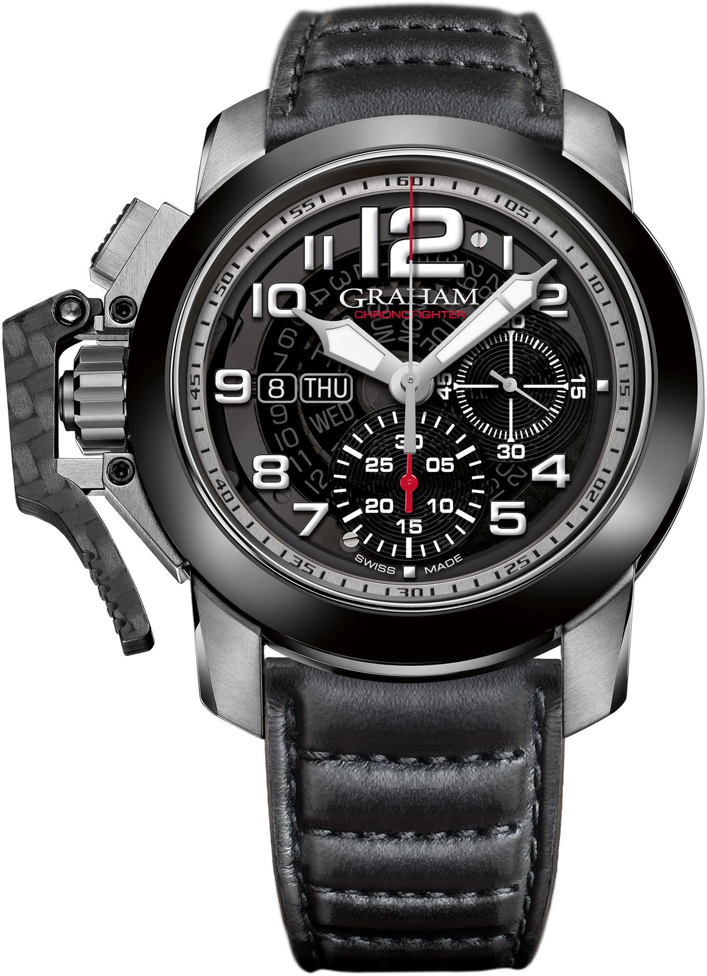 chronofighter graham gmt zm oversize men watches watch s steel model