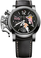 Graham Watch Chronofighter Vintage Nose Art Sally Limited Edition