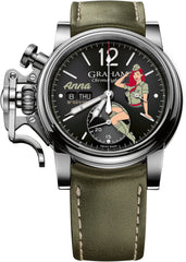 Graham Watch Chronofighter Vintage Nose Art Anna Limited Edition