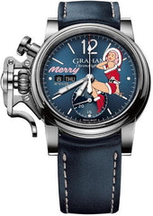Graham Watch Chronofighter Vintage Nose Art Merry Limited Edition