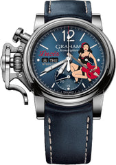 Graham Watch Chronofighter Vintage Nose Art Lucia Limited Edition