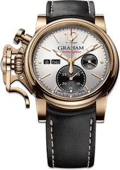 Graham Watch Chronofighter Vintage Bronze Silver Gold