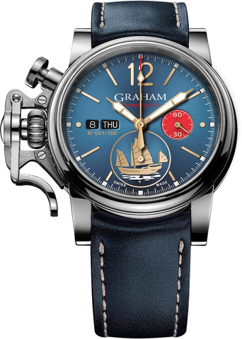 Graham Watch Chronofighter Vintage Golden Junk Limited Edition Pre-Order