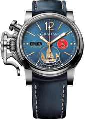 Graham Watch Chronofighter Vintage Golden Junk Limited Edition