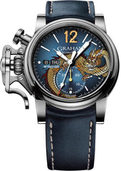 Graham Watch Chronofighter Vintage Noseart Dragon Limted Edition Pre-Order