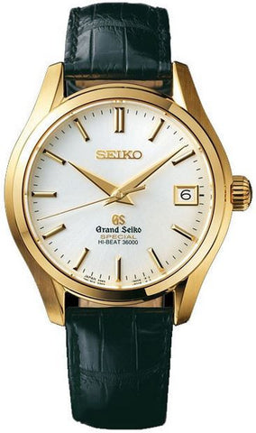 Grand Seiko Watch Mechanical Automatic Yellow Gold