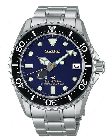 Grand Seiko Watch Spring Drive Diver Blue Limited Edition D