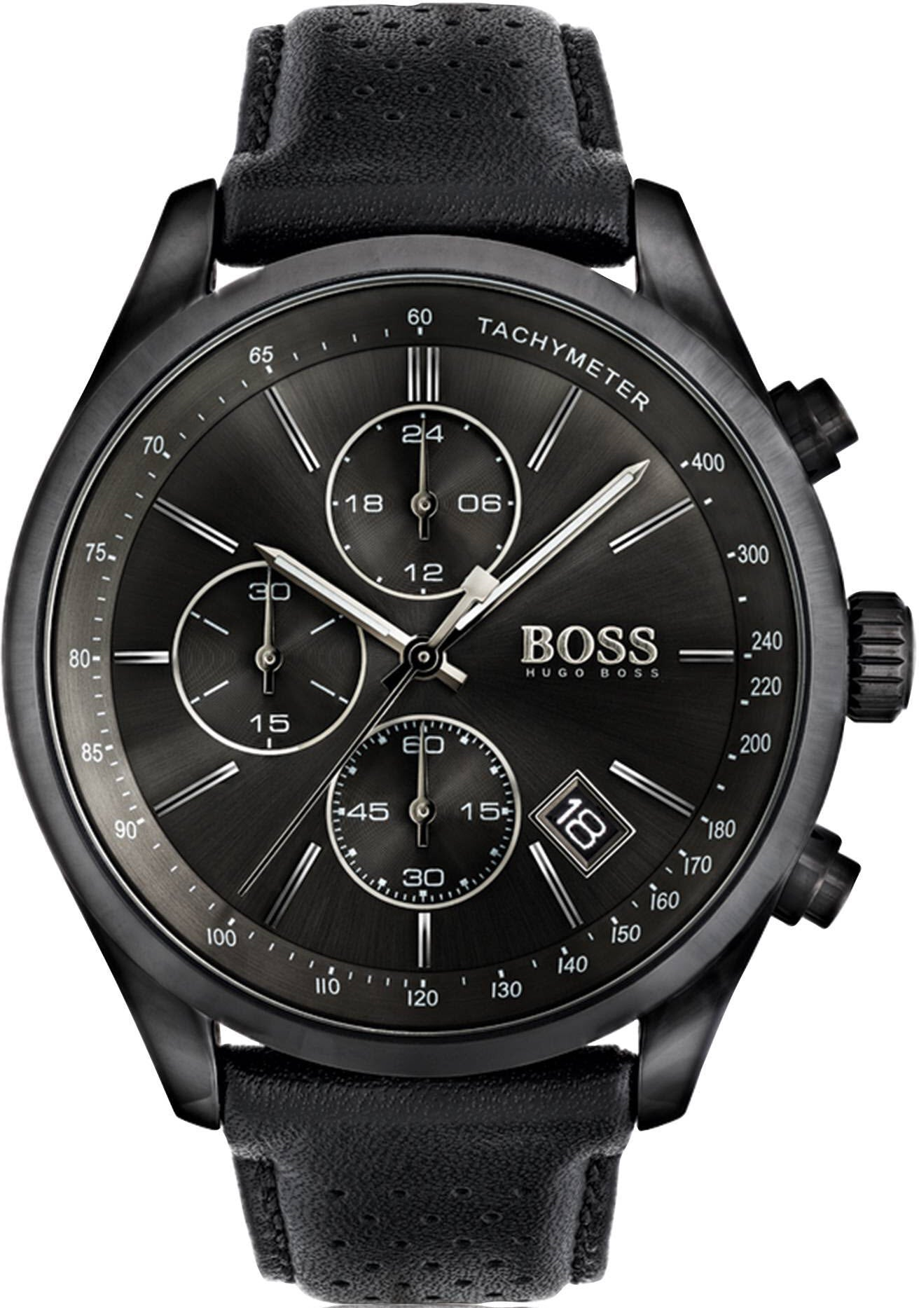 hugo boss watch grand prix mens 1513474 watch. Black Bedroom Furniture Sets. Home Design Ideas