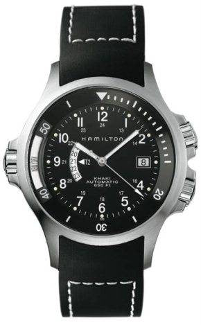 Hamilton Watch Khaki Navy GMT