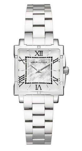 Hamilton Watch Jazzmaster Square Lady