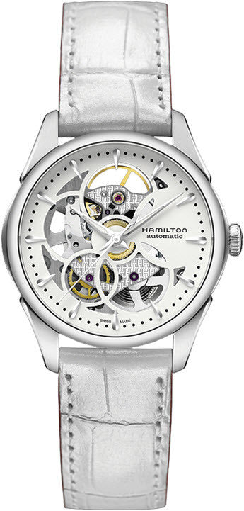 Hamilton Watch Jazzmaster Viewmatic Skeleton Lady