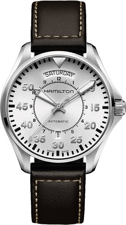 Hamilton Watch Khaki Aviation Pilot Day Date Auto