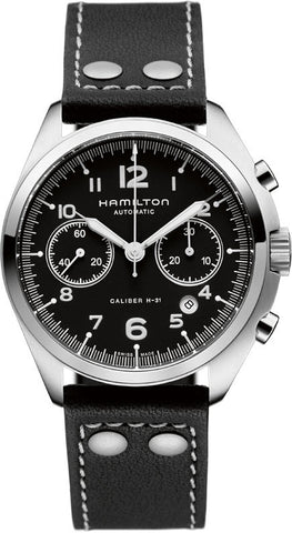 Hamilton Watch Khaki Aviation Pilot Pioneer Auto Chrono