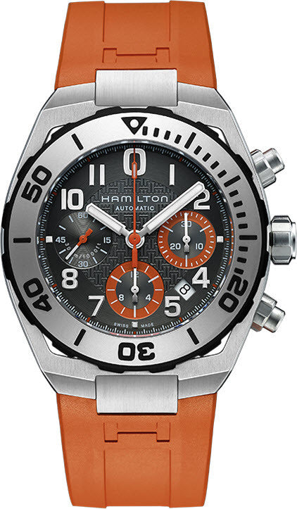 Hamilton Watch Khaki Navy SUB Auto Chrono