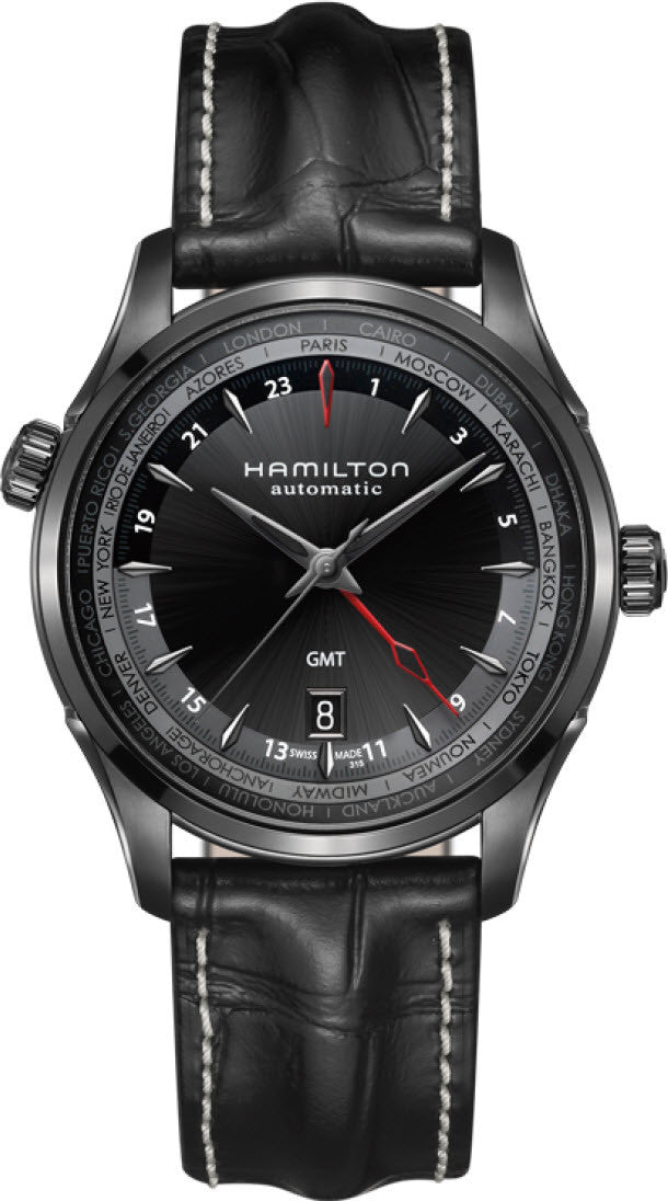 Hamilton Watch American Classic Jazzmaster GMT Limited Edition D