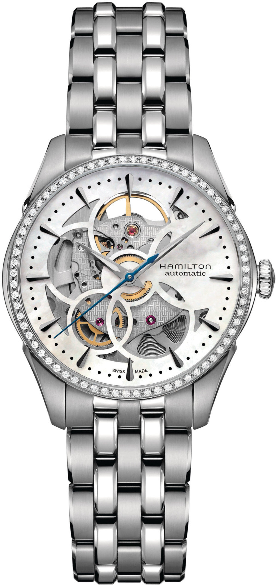Hamilton Watch Jazzmaster Skeleton Lady
