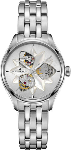 Hamilton Watch Jazzmaster Open Heart Lady