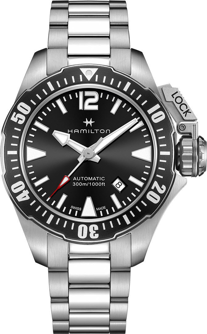 Hamilton Watch Khaki Navy Frogman