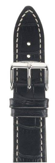 Hirsch Strap Modena Black Large 22mm