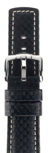 Hirsch Strap Carbon Black Large 20mm
