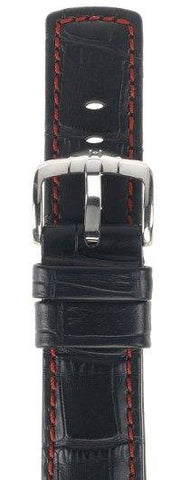 Hirsch Strap Grand Duke Black Large 20mm