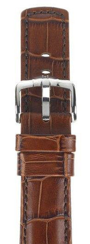 Hirsch Strap Grand Duke Gold Brown Large 20mm