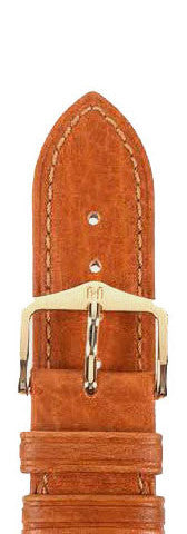 Hirsch Strap Camelgrain Honey Large 16mm