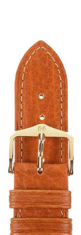 Hirsch Strap Camelgrain Honey Large 20mm