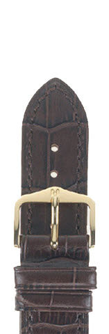 Hirsch Strap Duke Brown Large 18mm
