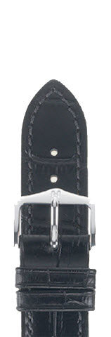 Hirsch Strap Duke Black Medium 14mm