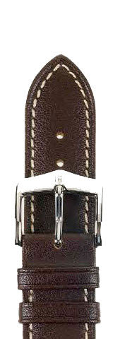 Hirsch Strap Heavy Calf Brown Large 20mm
