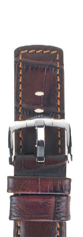 Hirsch Strap Grand Duke Brown Large 18mm