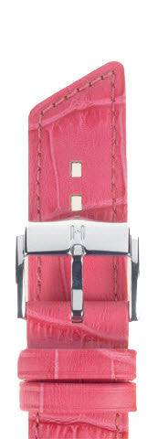 Hirsch Strap Princess Pink Medium 12mm