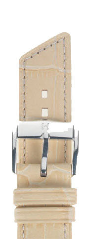 Hirsch Strap Princess Beige Medium 20mm