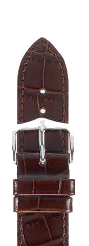 Hirsch Strap Louisianalook Brown Large 20mm