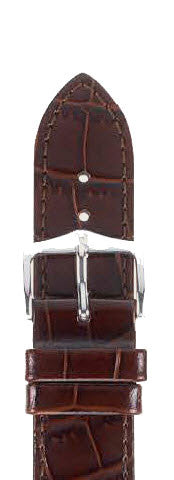 Hirsch Strap Louisianalook Brown Medium 12mm