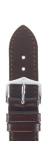 Hirsch Strap Osiris Brown Large 18mm