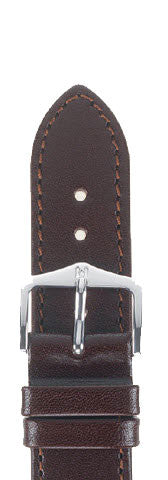 Hirsch Strap Osiris Brown Large 22mm