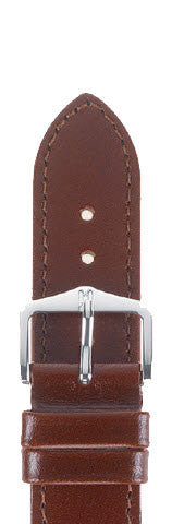 Hirsch Strap Osiris Middlebrown Large 18mm