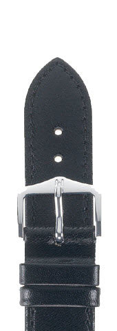 Hirsch Strap Osiris Black Large 18mm