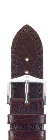 Hirsch Strap Highland Brown Large 18mm