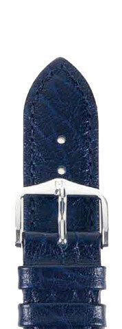Hirsch Strap Highland Blue Large 18mm