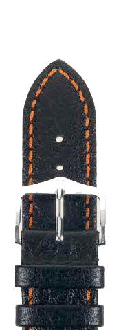 Hirsch Strap Jumper Black/Orange Large 20mm
